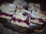 Kynutý ovocný koláč s tvarohem recept