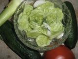 Okurkový salát s koprem recept