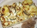 Brambory zapečené s okurkami recept