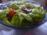 Římský salát se smetanovohořčičnou zálivkou recept
