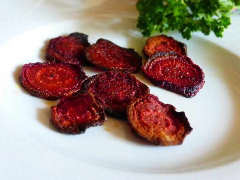Chipsy z červené řepy recept