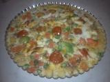 Polentový koláč se zeleninou recept