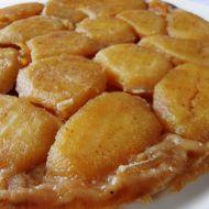 Rychlý jablkový koláč z listového těsta recept