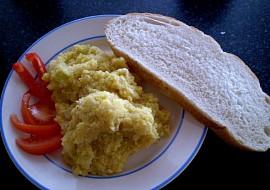 Míchaná vajíčka bez vajíček  vegan recept