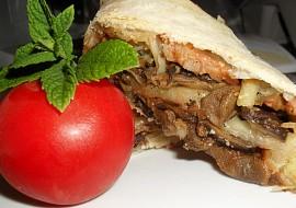 Houbový závin  dělená strava (kytičky) recept