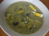 Polévka koprová  kulajda recept