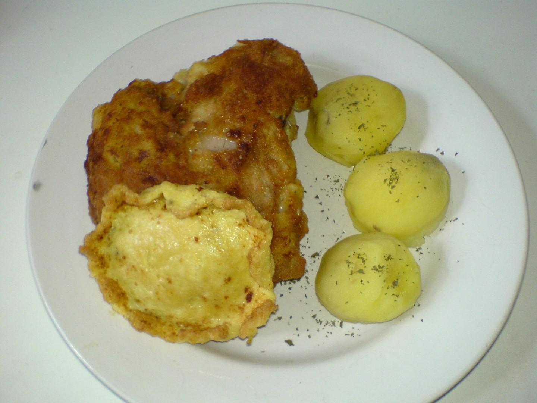 Kůzlečí řízek s brambory recept
