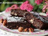 Cuketové brownies s arašídovým máslem bez mouky recept ...