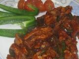 Vepřová minutka s medem a Tandoori masala recept