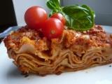 Lasagne se sójovým masem recept