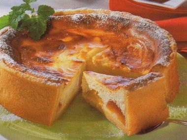 Broskvový koláč  bezlepkový