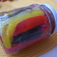 Sterilovaná papriko-cuketa recept