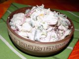 Ředkvičkový salát se sýrem II recept