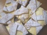 Křehký koláč mřížkový recept