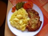 Kuřecí řízky v bramborovém těstíčku recept