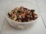 Těstovinový salát s uzeným lososem recept