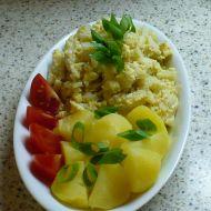Květákový mozeček s brambory 1 recept