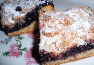 Borůvkový koláč  jednoduchý a výborný