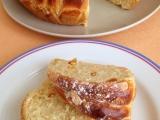 Máslový věnec s brusinkami recept