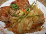 Vepřové dušené se zeleninou a bramborem recept