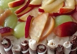 Narozeninový ovocný dort pro mamku recept