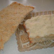 Kokosové řezy bez mouky recept