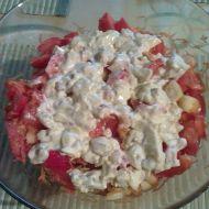 Zeleninový salát s marinovaným kuřecím recept