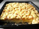 Ovocný piškotový koláč recept