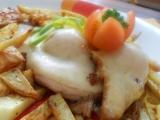 Kuřecí prso s broskví a sýrem-dietně recept