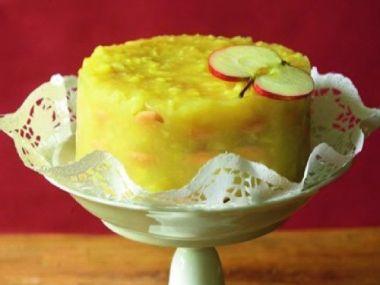 Jablečný pudink bezlepkový