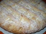 Linecký mřížkový koláč recept