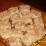 Kokosové řezy rafaello recept