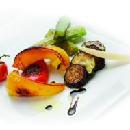 Středomořská grilovaná zelenina recept