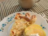 Nekynutý koláč z droždí s tvarohovo-jablečnou náplní recept ...