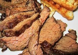 Steak z hovězího pupku – flank steak recept