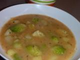 Růžičková kapusta s brambory  prívarok recept