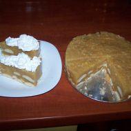 Nepečený dort s jablky recept