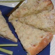 Kynutý rebarborový koláč recept