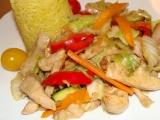 Kuřecí směs se zeleninou (čína) z woku recept