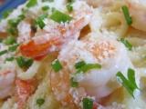 Krevety s omáčkou Alfredo recept