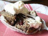 Makové muffiny s brusinkami recept