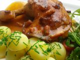 Kuřecí stehna na slanině a zázvoru recept