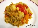Květákovo-mrkvové sabji recept