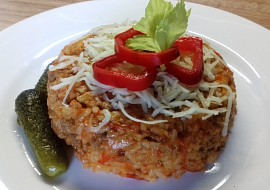 Srbské rizoto z mletého masa recept