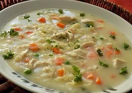 Králičí zadělávaná polévka recept