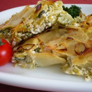 Zapečené brambory s brokolicí recept