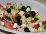Salát s olivami recept