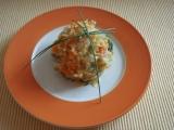 Šťouchané brambory s cuketou a mrkví recept