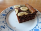 Kakaová buchta s banánem recept