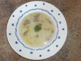 Zelná polévka se salámem recept